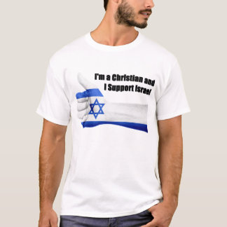 I'm a Christian and I Support Israel Men's Tee