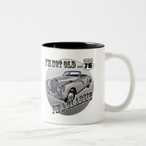 I'm A Classic 75th Birthday Gifts Two-Tone Coffee Mug