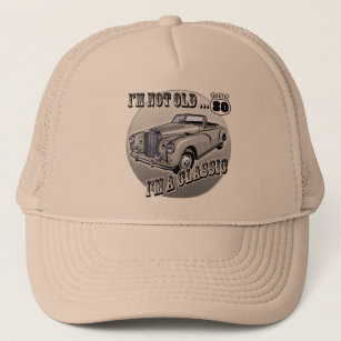Im A Classic 80th Birthday Gifts Trucker Hat