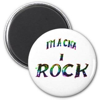 I'M A CNA...I ROCK 2 INCH ROUND MAGNET