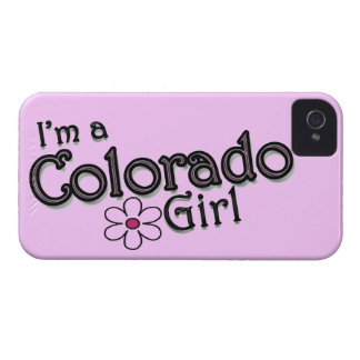 I'm a Colorado Girl, Flower, Pink iPhone Cover iPhone 4 Cover