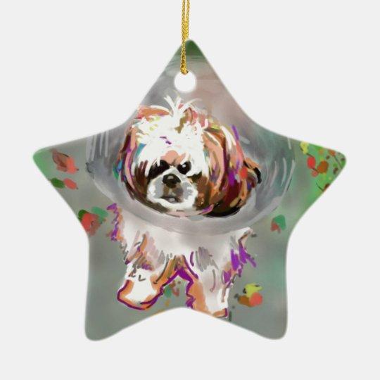 I'm a conehead ceramic ornament