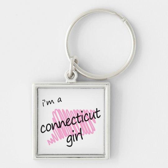 I'm a Connecticut Girl Keychain
