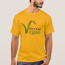 I'm a Cool Vegan Men T-shirt