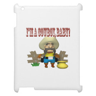 Im A Cowboy Baby iPad Cover