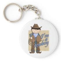 I'm A Cowboy Little Western Buckaroo Keychain