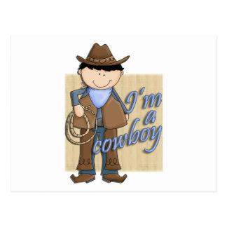 I'm A Cowboy Little Western Buckaroo Post Cards