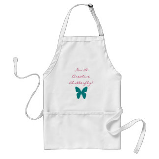 I'm A Creative Butterfly! Adult Apron