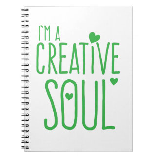I'm a Creative Soul Notebook