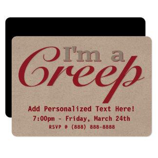 I'm a Creep Card