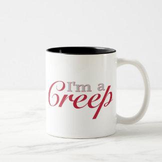 I'm a Creep Two-Tone Coffee Mug