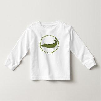 I'm A Crocodile...So Chomp Toddler T-shirt