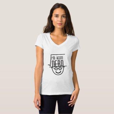 de_look I'm A cute Nerd Funny Math Gift Math Lover T-Shirt
