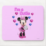 I'm a Cutie Minnie Mouse Mouse Pad
