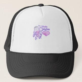 I'm a cutie silly jellyfish trucker hat