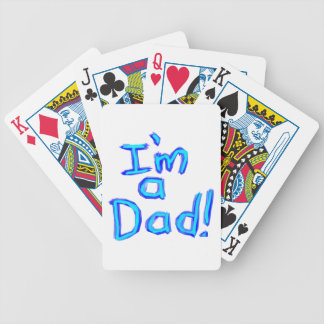 I'm a Dad! Bicycle Playing Cards