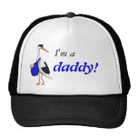 """""""I'm a daddy!"""" hat with the Delivery Stork"""