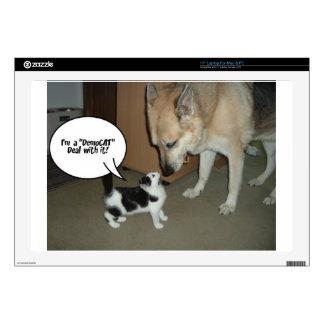 "I'm a DemoCAT Deal with It! 17"" Laptop Decals"