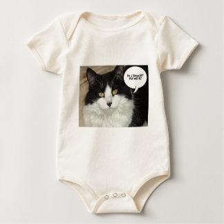 I'm a DemoCAT Deal with It! Baby Bodysuit