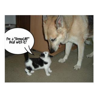 I'm a DemoCAT Deal with It! Postcard
