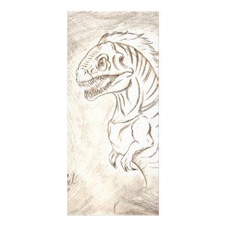 I'm a Dinosaur Rack Card