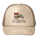 Im a Director No Really I Am Mesh Hat