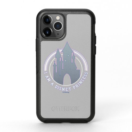 """""""I'm A Disney Princess"""" Castle Graphic OtterBox Symmetry iPhone 11 Pro Case"""