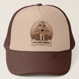 I'm a Dog Person - Browns Trucker Hat