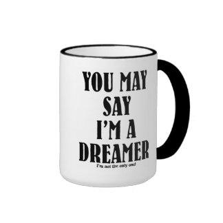 I'm a Dreamer Ringer Mug