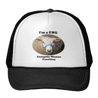 I'm a EWE: Energetic Woman Excelling Trucker Hat