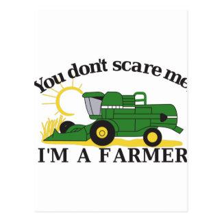 Im a Farmer Postcard