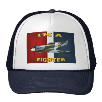 I'M A FIGHTER TRUCKER HAT