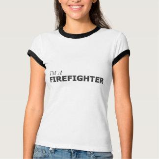 I'M A FIREFIGHTER/GYNECOLOGIC-OVARIAN CANCER T-Shirt