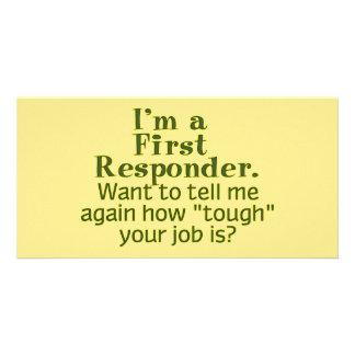 I'm a First Responder... Card