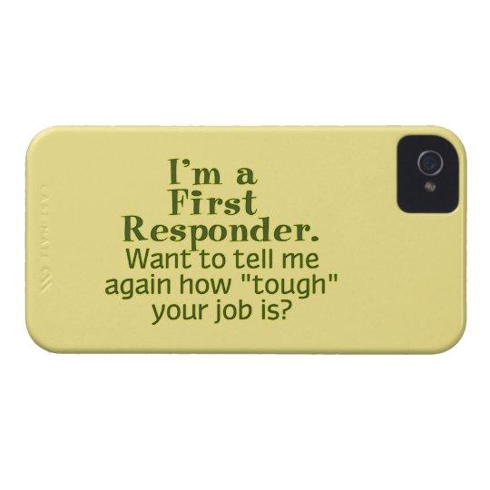 I'm a First Responder... iPhone 4 Case-Mate Case