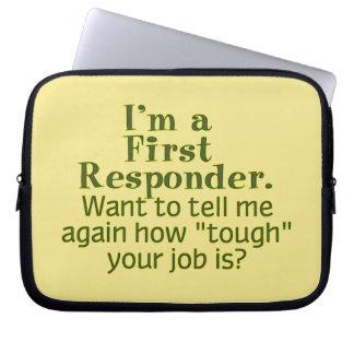 I'm a First Responder... Laptop Sleeve