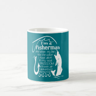 I'm a fisherman coffee mug