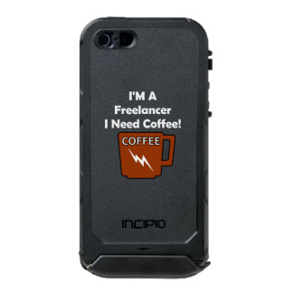 I'M A Freelancer, I Need Coffee! Waterproof Case For iPhone SE/5/5s