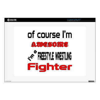 I'm a Freestyle Wrestling Fighter Skin For Laptop