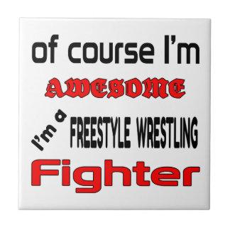 I'm a Freestyle Wrestling Fighter Tile