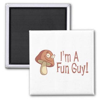 I'm A Fun Guy! 2 Inch Square Magnet