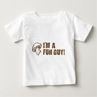 I'M A FUN GUY Mushroom Fungi Baby T-Shirt