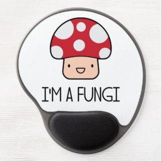 I'm a Fungi Fun Guy Mushroom Gel Mouse Pad