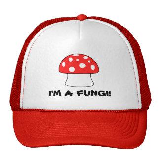 I'm a fungi funny trucker hat
