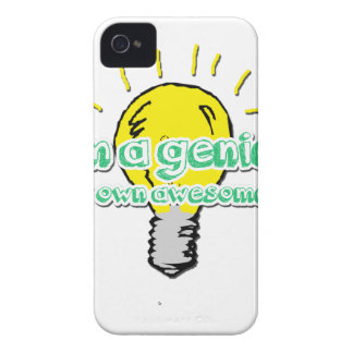 I'm a Genius (In my Own Awesome Way) iPhone 4 Cover