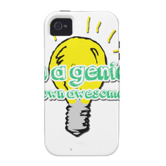 I'm a Genius (In my Own Awesome Way) Case-Mate iPhone 4 Case