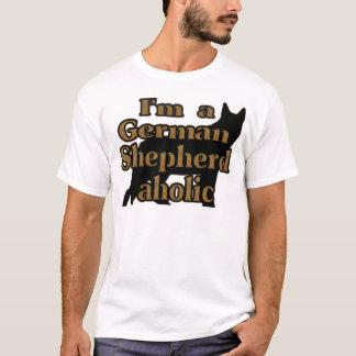 I'm A German Shepherd aholic T-Shirt