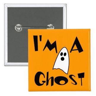 I'm A Ghost Costume Pinback Button