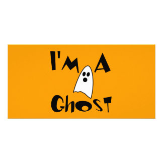 I'm A Ghost Costume Card
