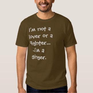 I'm a ginger t shirt